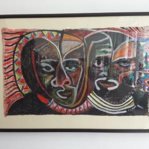 Vanley Burke installation view at Ikon. July 2015